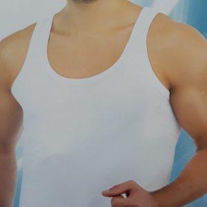 Férfi trikó rugalmas pamut anyagból