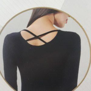 Alkalmi női body pamut-modál alapanyagból (22804)