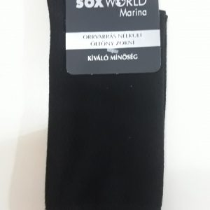 SoxWorld rugalmas pamut öltönyzokni