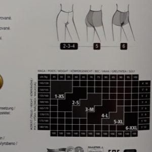 Adrian Hera nagyméretű mintás harisnyanadrág