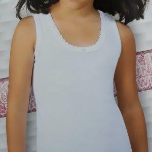 Namaldi lányka vállas pamut trikó