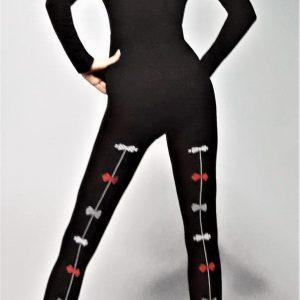 Adrian Flóra mintás női harisnyanadrág 3D