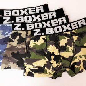 Z Boxer terepmintás sztreccs férfi alsó