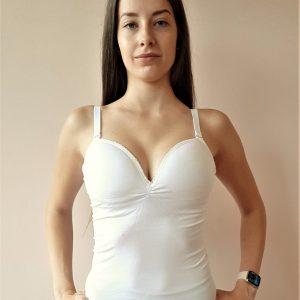 Melltartós microszálas női trikó