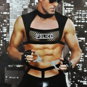 Erotikus fehérnemű jelmez rendőr