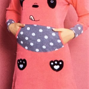 2 in 1 tunikás női pizsama